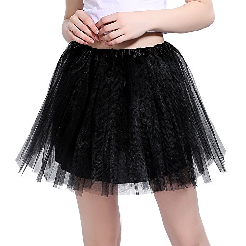 80s Adult Tutu Layered Skirt. One Size with stretchy waistband