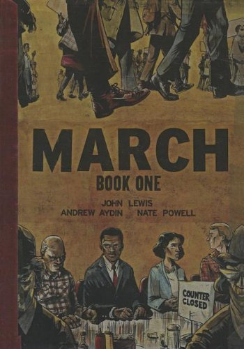 march-book-one-turtleback-school-library-binding-edition-reprint-edition-by-andrew-aydin-lewis-john-