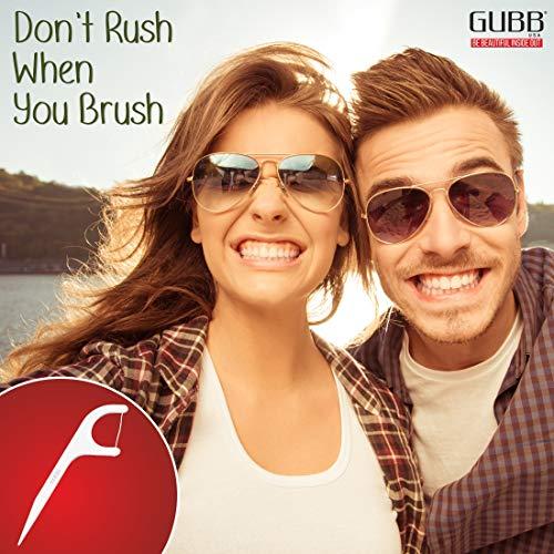 Gubb USA Dental Floss Pick With Handle