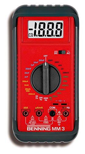 Preisvergleich Produktbild Benning MM 3 Digital-Multimeter 044029