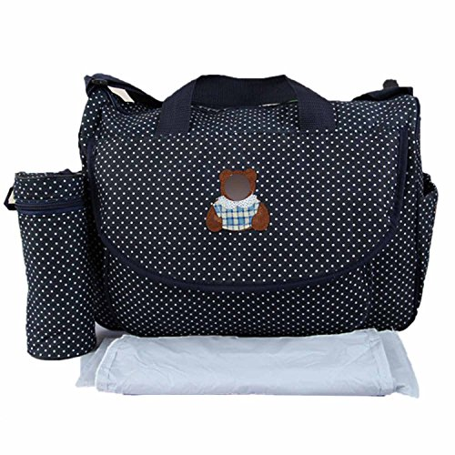Preisvergleich Produktbild 3 Stück Baby Kind Windel Wickeltisch Tasche Mumie Mutterschaft Tasche Große Kapazität Umhängetasche Bottle Bag