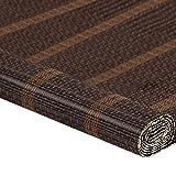 MEI XU Rollo Bambus Vorhang - natürliche Nanmu Kordelzug Bambus Vorhang staubdicht und Wasserdicht Hohlen Tee Zimmer Shutter [4 Farben 9 Größen] (Farbe : B, Größe : 85x150cm)