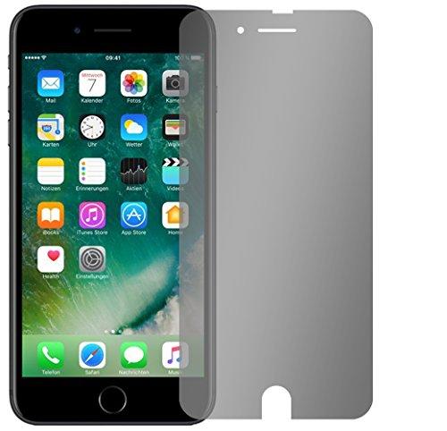 Slabo Blickschutzfolie für iPhone 7 / iPhone 8 Sichtschutz Displayschutzfolie (verkleinerte Folien, aufgrund der Wölbung des Displays)