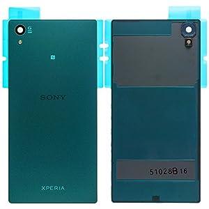 Original Sony Akkudeckel green / grün für Sony Xperia Z5 (Akkufachdeckel, Batterieabdeckung, Rückseite, Back-Cover) - 1295-1380