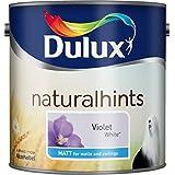Dulux Natural Consejos Matt 2.5L Violeta Blanco