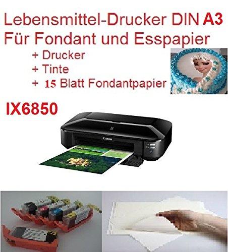 Neu Model A3 Lebensmittel Drucker Startset Tintenstrahldrucker Fotodrucker