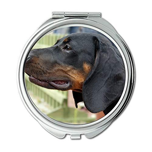 Yanteng Spiegel, Travel Mirror, Welpen Hunde, Taschenspiegel, 1 X 2X Vergrößerung
