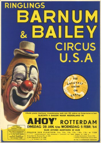 Barnum und Bailey 1964 - Barnum & Bailey Circus-magazin
