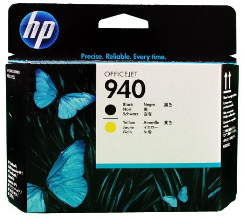 HP 940 schwarz und gelb Original Druckkopf