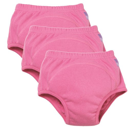 Vital Innovations 3TPG 3+ Jahre C Bambino Mio Trainingshöschen, (3er-Set), pink