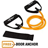 FITSY® Toning Tube with Additional Door Anchor – Orange (40-45 lbs)