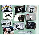 Imanes de nevera parte superior 10Banksy–todos los favoritos–Street Art Banksy