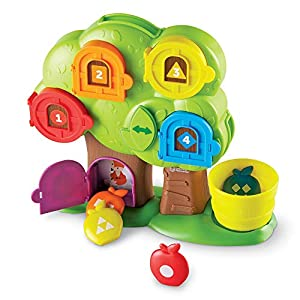 Learning Resources Hide & Seek Learning Treehouse Escondite en la casita del árbol didáctica, Color (LER7741)