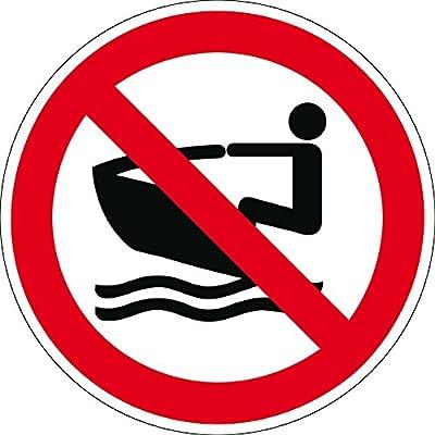 Verbotszeichen - Jet-Ski verboten - Kunststoff