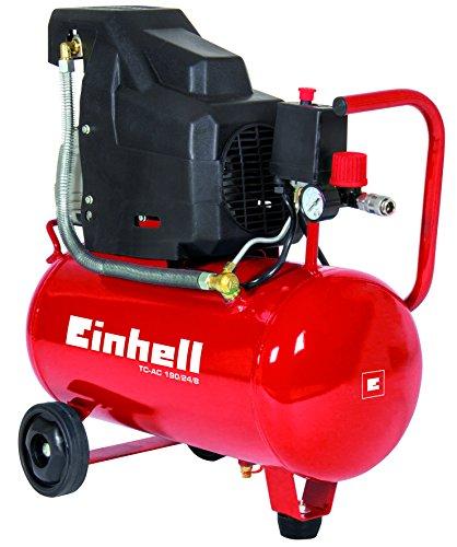 EINHELL COMPRESOR TC-AC 190/24/8(1 5KW  24L  POTENCIA DE SUCCION 160L/MIN  8BARES  AUTOMATICA  INTERRUPTOR DE PRESION)