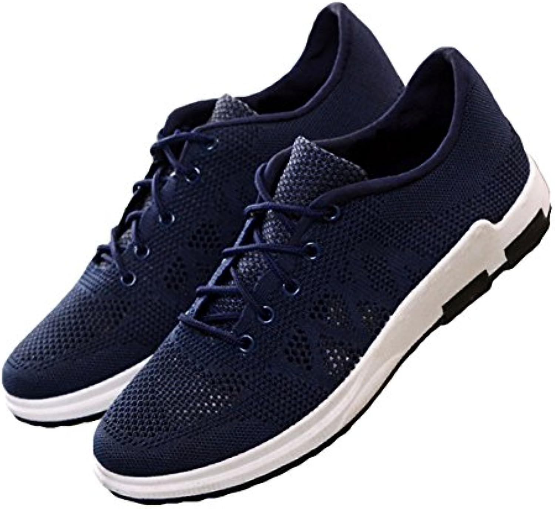 Juleya Herren Sportschuhe Moderne Anti Rutsche Turnschuhe Freizeit Atmungsaktiv Bequeme Schnür Sneakers Laufschuhe