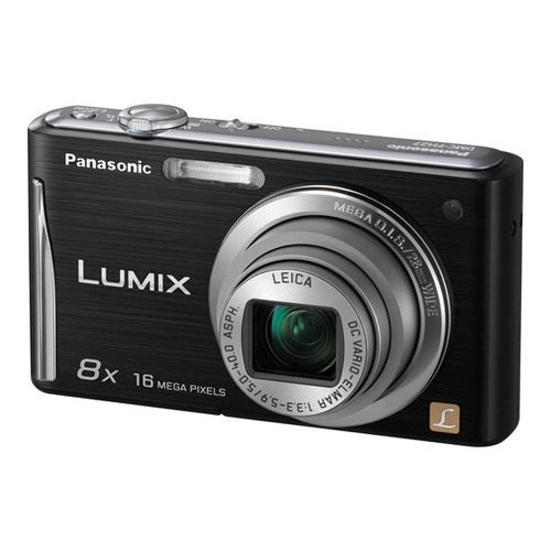 Panasonic Lumix Dmc-fh27 16.1mp Point And Shoot Camera (black) With 8x Optical Zoom