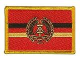 Flaggen Aufnäher Deutschland DDR Volksmarine Fahne Patch +