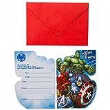 Amscan Avengers internazionali inviti e buste