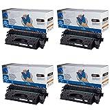 4x Toner kompatibel für HP CE505X (05X) LaserJet P2050 Series P2053D P2053DN P2053X P2054D P2054DN P2054X P2055 P2055D P2055DN P2055DTN P2055X P2056D P2056DN P2056X P2057D P2057DN P2057X