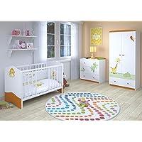 Polini Kids Kinderzimmer Set L Basic Modell Jungle, 23837 preisvergleich bei kinderzimmerdekopreise.eu