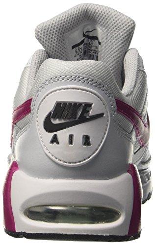 Nike Air Max Ivo Gs, Chaussures de Tennis Fille Blanc Cassé (Pure Platinum/sport Fuchsia/white/black)