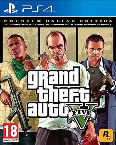 Grand Theft Auto V - Premium Online Edition - PlayStation 4 [Edizione: Regno Unito]