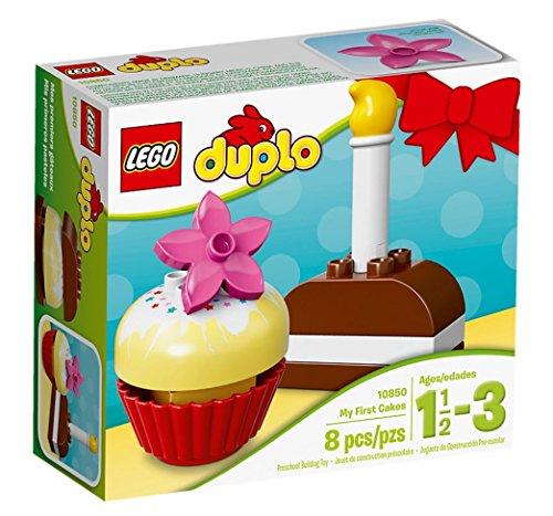 LEGO - 10850 - DUPLO - Jeu de Construction - Mes Premiers Gâteaux
