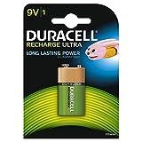 Duracell Recharge Ultra Batteria Ricaricabili, Stilo 9V, 170 mAh, Confezione da 1