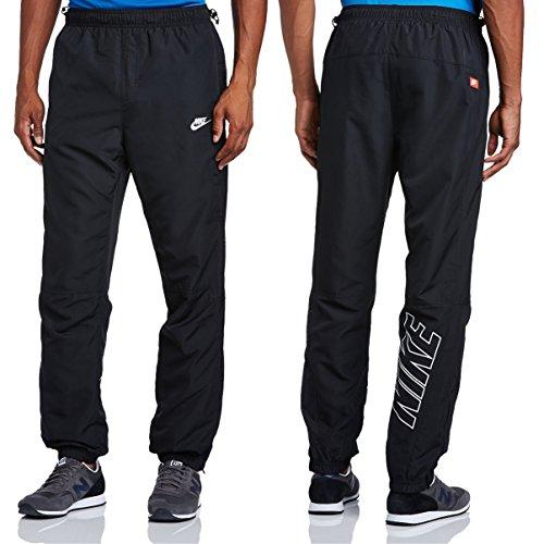 Nike Men's Wäscheleine 603260 Hose gewebt wurden Gr. Small, Schwarz - Schwarz (Logo Trainingshose Schwarz)
