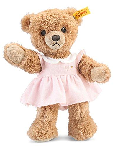 Steiff 239526 - Schlaf Gut Bär, 25 cm, rosa (Steiff Knopf Teddybär)