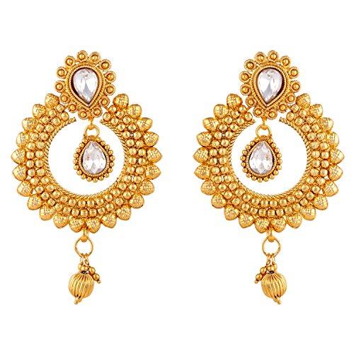 Ameeyo Bollywood inspired stylish traditional ethnic dangler earring for Women