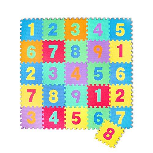 Kinder-Garten EVA Buchstaben Alphabet Puzzlemate Spielteppich Spielmmatte Schaumstoffmatte 26 Matten