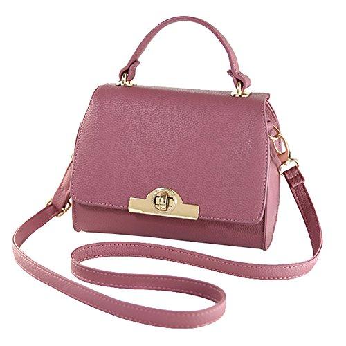 SHUhua - Sacchetto donna dark pink