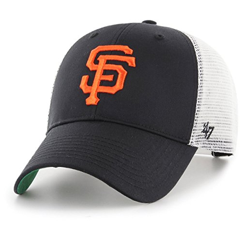 47 Brand Snapback Cap - Branson San Francisco Giants Schwarz