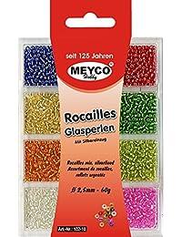 Semilla Bolas Beads Mini Vidrio Silverlined