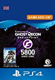 Ghost Recon Breakpoint - 4800 (+1000) Ghost Coins 5800 Coins | PS4 Download Code - UK account