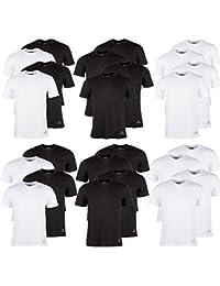 Kappa T-Shirts Ziatec Edition, 2 oder 4 Stück, Rundhalsausschnitt, V-Ausschnitt