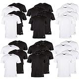 Kappa T-Shirts Ziatec Edition, 2 oder 4 Stück, Rundhalsausschnitt, V-Ausschnitt, Größe:XXL, Farbe:4 x V-Neck Mix