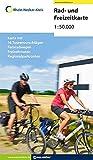 Rad & Freizeitkarte Rhein-Neckar-Kreis: Mit 16 Radtourenvorschlägen, Regionalparkrouten, Freizeitrouten, Fernradwegen und Hinweisen zu ... und Ausflugszielen im Rhein-Neckar-Kreis