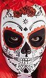 Rubies 's-Mascara crâne Katrina avec Roses Día de Los Muertos, Taille Unique, s3186
