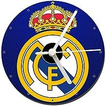 Real Madrid C.F. D Reloj CD Clock 12cm