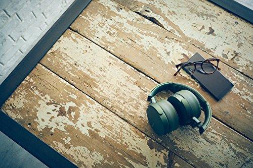 Sony MDR-XB950N1 kabelloser Kopfhörer mit Geräuschminimierung (Noise Cancelling, Extrabass, NFC, Bluetooth, faltbar) grün - 18