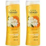 Avon Naturals Mandarin & Jasmine Shower Gel (set of 2 of 200 ml each)