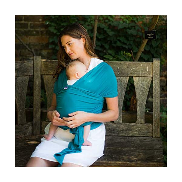 Izmi Wrap, Made from Soft Bamboo, Ideal for Newborns, Teal Izmi Ideal for use with new born babies (2.3kg-9kg) 2 carrying positions: front carry or hip carry Made from super soft Bamboo fabric that holds your baby in a snug comfortable position 2