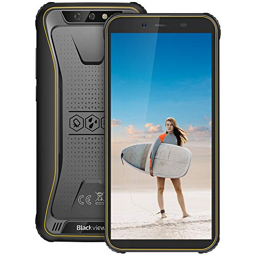 Blackview BV5500 Pro Rugged Movil, Android 9.0 Pie, Dual SIM 4G, 5.5' 18:9...
