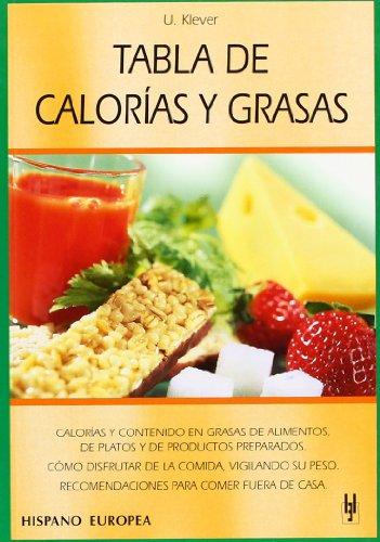 Descargar Libro Tabla de calorías y grasas (Tablas de alimentos) de Ulrich Klever