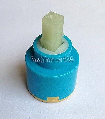 Generic 40mm Bluee NEUF cartouche à disques en céramique Eau robinet mitigeur Inner robinet Valve accessoire de salle de bain Aba502