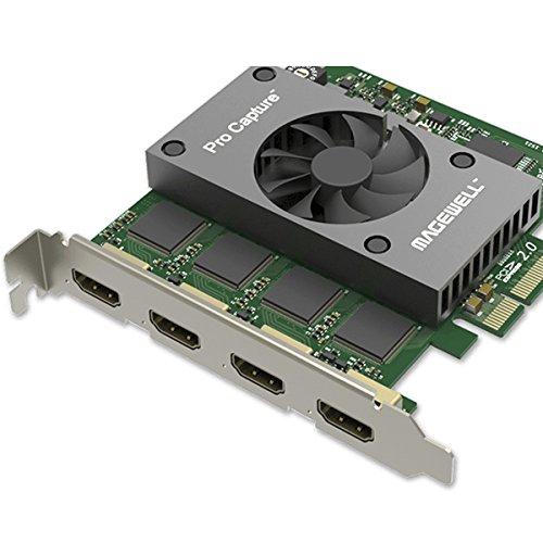 Magewell Pro Capture Quad HDMI Video Capture Card