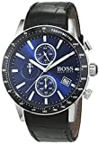 HUGO BOSS Men's Chronograph Quartz Watch with Leather Strap - 1513391